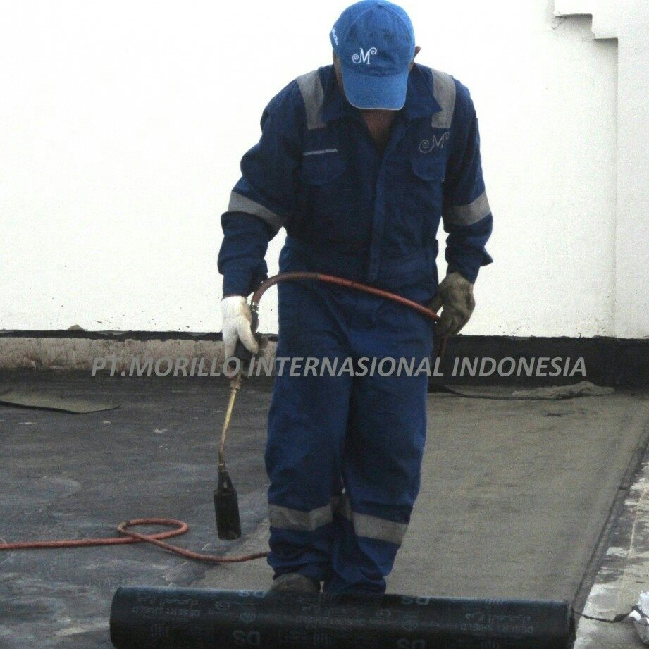 Jasa Pemasangan ( Pasang ) Waterproofing Membran Bakar