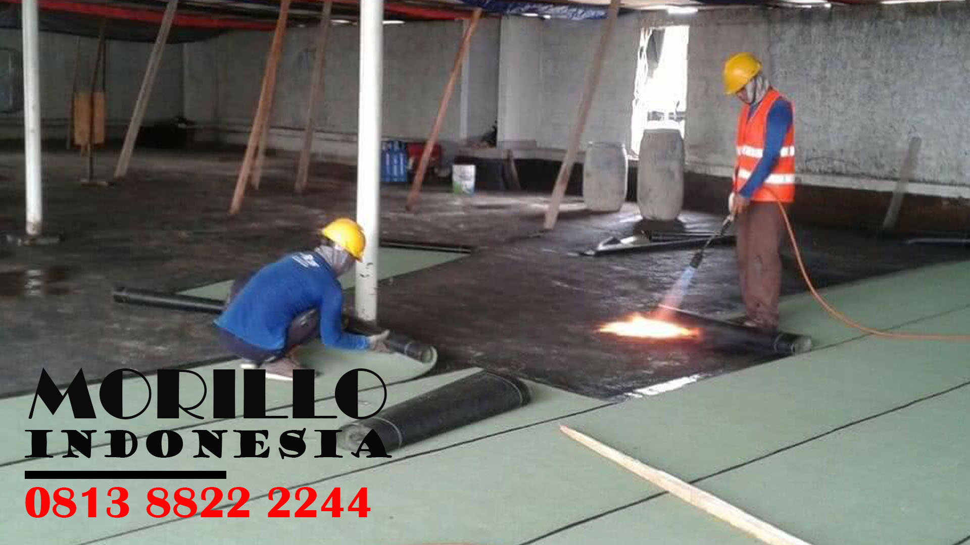 MEMBRAN WATERPROOFING ANTI BOCOR di KEBON BARU WA : 08 13 88 22 22 44