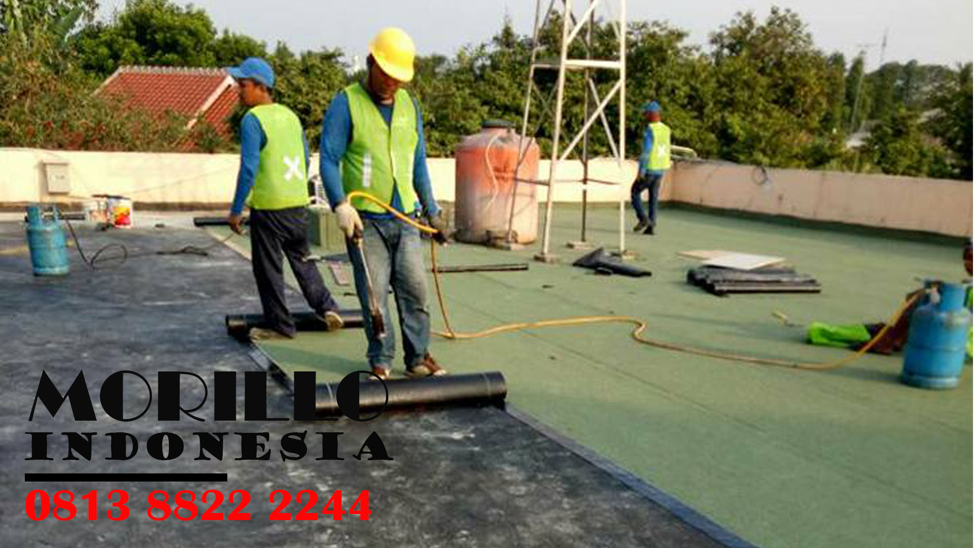 MEMBRAN WATERPROOFING ANTI BOCOR di KENDARI HUBUNGI : 0813 88222244